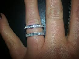 diamonique wedding rings no one will it s diamonique pics weddings and