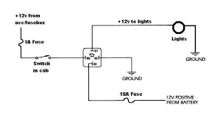 headlight wiring diagram without relay wiring diagram
