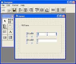 form designer runtime form designer activex form designer vb visual