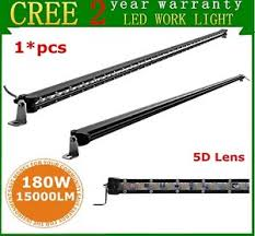 48 inch led light bar 48 inch 180w 5d super slim single row cree led light bar off road