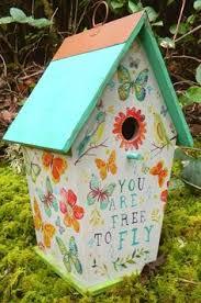 floral birdhouse home decor home floral and home decor