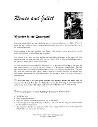 romeo u0026 juliet act v mrs pilgreen u0027s english i website