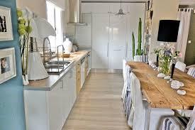 cuisine blanche plan de travail bois cuisine blanche plan de travail bois finest cuisine blanche plan