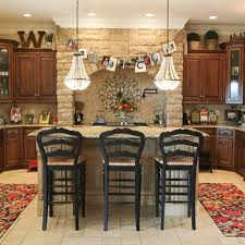 kitchen top of cabinets decor above cabinet decoration houzz