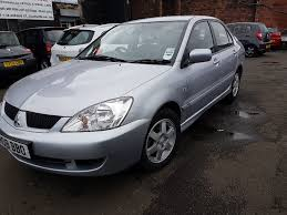 mitsubishi lancer 2008 26 600 miles 1 6 petrol manual 4 door