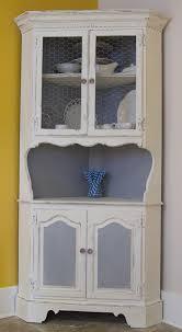 Sideboards Extraordinary Corner Hutch Kitchen Cornerhutch - White kitchen hutch cabinet
