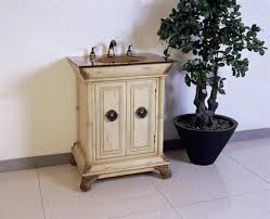 Vanities For Small Bathrooms Antique 28 Inch Small Ivory Antique White Bathroom Vanity