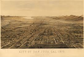Map San Jose by Gifford U0027s Map Of San Jose California 1875