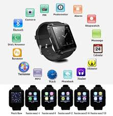 bluetooth smartwatch u8 smart watch for iphone 6 puls 5s samsung