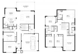 double master bedroom two storey house design with floor plan plans balcony off master