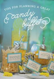 Candy For A Candy Buffet by Tips For Planning Your Wedding Candy Buffet The Budget Savvy Bride