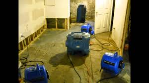 flooded basement cleanup chalfont pa wet basement repairs