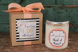 asking bridesmaid gifts ideas for of honor will you be my bridesmaid gift will you be