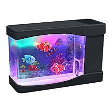 lightahead artificial mini aquarium fish tank multi