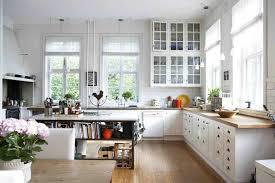 Oak Kitchens Designs Modern Kitchen Open Plan White Kitchen Glass Door Wall Mount