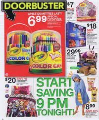 when do target black friday doorbusters start target black friday 2012 ad scan