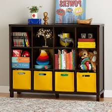 Children S Bookshelf Image Of Kids Shelves Terry Storage Shelf With 6 Bins Kids Storage