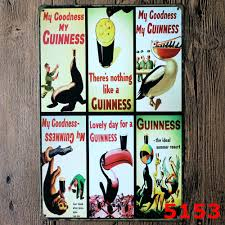 Metal Signs Home Decor by Online Get Cheap Metal Guinness Signs Aliexpress Com Alibaba Group