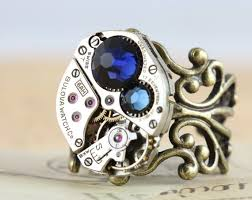 unique mothers rings unique mothers ring antique brass birthstone ring custom