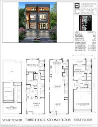 free modern house plans modern townhouse plans duplex townhouse plan free modern house plans