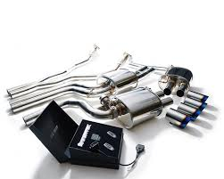 audi s4 exhaust armytrix stainless steel valvetronic catback exhaust system