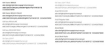 gill sans light font tasmanian government communications font