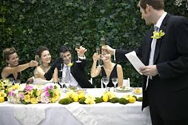 Tips For Making A Wedding Toast by How To Write And Deliver A Great Wedding Toast