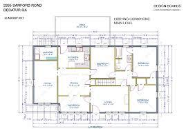 2355 sanford drive renovation project u2022 decatur georgia home sales