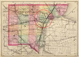 Map Of Michigan And Canada by Southwest Detroit Was Originally Springwells Township With Lots