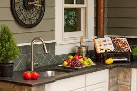 outdoor kitchen sink faucet outdoor kitchen sinks ground