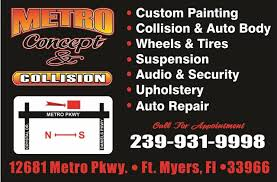 Upholstery Ft Myers Metro Concept U0026 Collision Automotive Service And Maintenance In