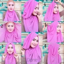 tutorial hijab syar i untuk pengantin 187 best hijab terbaru fashion dan aksesoris images on pinterest