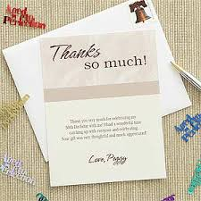 personalized thank you cards custom printed thank you cards then and now