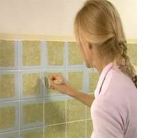 Painting Bathroom Tile by Home Dzine Bathrooms Painting Tiles For A Weekend Makeover