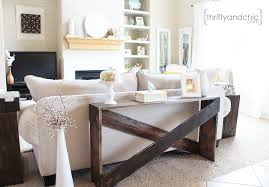 Decorating A Sofa Table Thrifty And Chic Diy Projects And Home Decor
