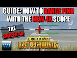 pubg 4x guide guide how to master the new 5 56 4x scope aim points range