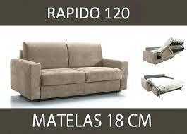 rapido canapé canape lit rapido convertible 2 places master ouverture 120 cm