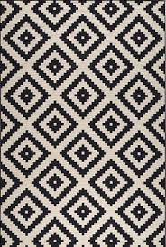 projects inspiration black white rug exquisite design olin black