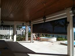 Motorized Screens For Patios Insect U0026 Solar Screens In Miami Fort Myers And Naples