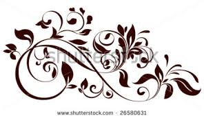 vector illustration floral ornament stock vector 26580631