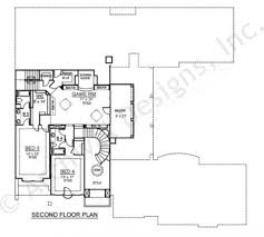2nd Floor House Plan by Santorini Luxury House Plan Spacious House Plans