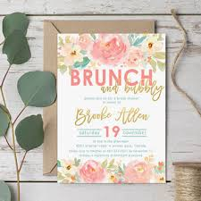 brunch bridal shower invitations shop bridal shower invitation coral on wanelo