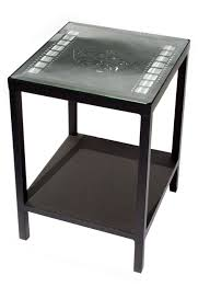 themed coffee tables theater themed end table with strips stargate cinema