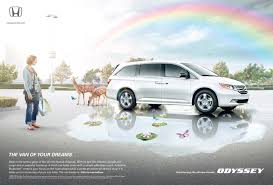 Honda Odyssey Pics Honda Print Advert By Rpa Serenity Ads Of The World