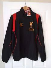 Football Bench Jackets Liverpool Training Jacket Ebay