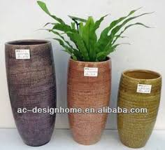 round tall ceramic planters buy round tall ceramic outdoor pots