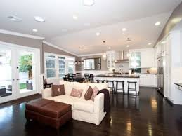 Kitchen Open Floor Plan Open Plan Kitchen Living Room And Dining Room For My Home