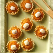 sweet potato recipes thanksgiving sweet potato tartlets recipe taste of home