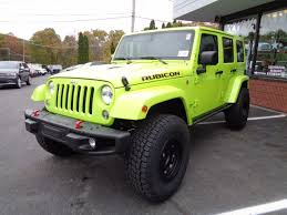 jeep wrangler sunset orange 2016 jeep wrangler unlimited rubicon hard rock in hypergreen
