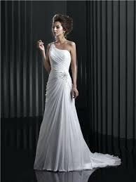 one shoulder wedding dresses one shoulder wedding dress ostinter info